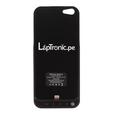 Batería Externa Batería Portátil iPhone 55S Power Pack Negro 2200mAh